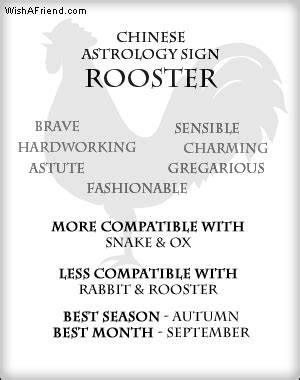 chinese zodiac rooster quotes