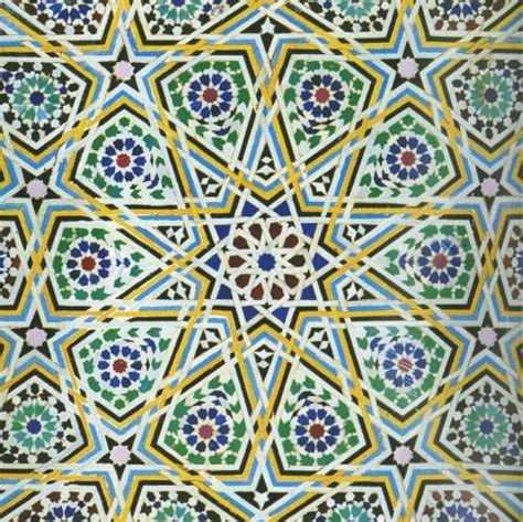 Islamic Artworks 44 tessellations ali d colored pencil artwork