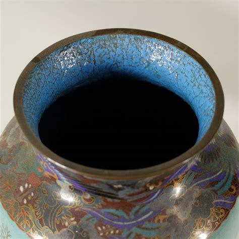 vasi cloisonne coppia di vasi cloisonn 233 oggettistica antiquariato
