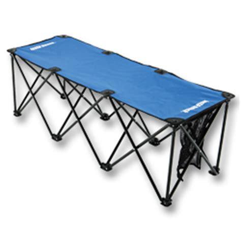 insta bench insta bench 3 or 6 seat folding portable soccer benches