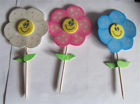 c 243 mo hacer flores de goma eva paso a paso bloghogar com manualidades con plastilina flores originales flores de
