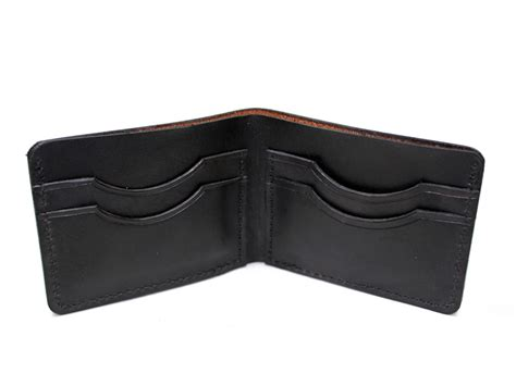 Handmade Leather Usa - handmade leather wallet mens bifold made in usa on storenvy