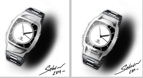 designboom watch the steel watch rispetto breil concept designboom com