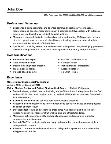 cover letter for ob gyn position cover letter for ob gyn position 28 images resume