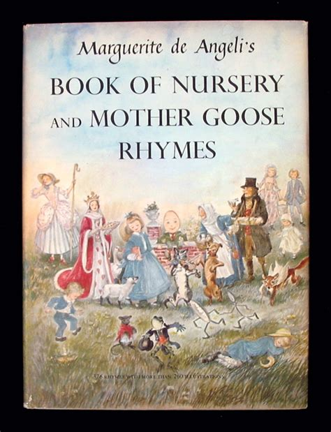 Mother Goose Nursery Rhyme Books book of nursery and mother goose rhymes a mother goose