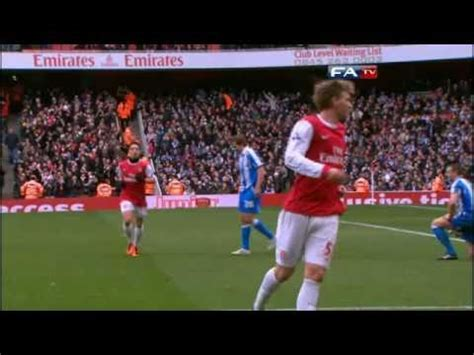 arsenal huddersfield youtube arsenal 2 1 huddersfield the fa cup 4th round 30 01 11