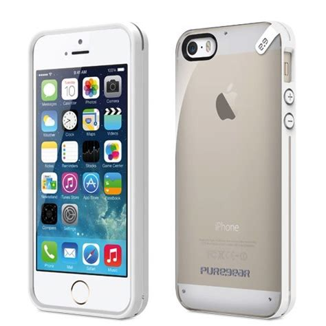 Puregear Iphone5 Gear Cover Casing Iphone 5s Se gear gear slim shell for iphone se 5s 5 clear clear cayman mac store t a alphasoft