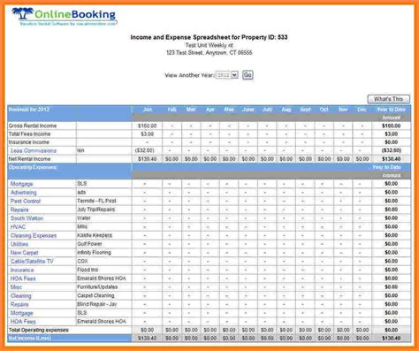 Business Expenses Excel Template by 9 Simple Business Expense Spreadsheet Excel