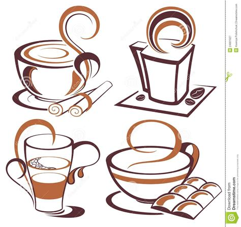 set of vector graphic elements royalty free stock photos vector set of coffee design elements royalty free stock