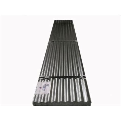 26 in x 14 ft galvanized steel roof panel 175348 the