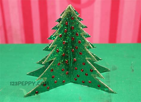 how to make simple christmas tree online 123peppy com