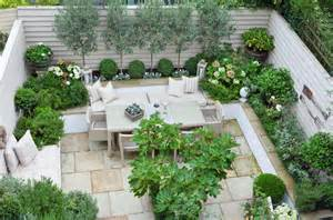 Small Walled Garden Design Ideas Terrace Small Garden Inspiration