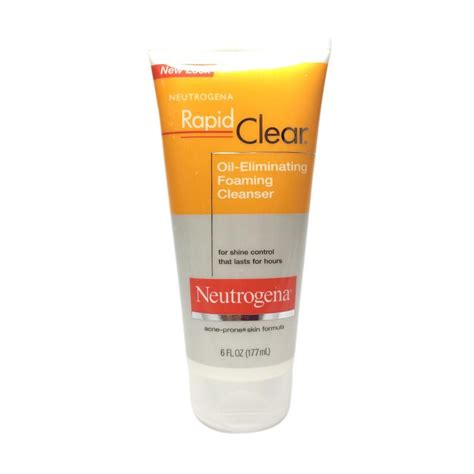 Terbatas Pobling Cleanser jual neutrogena rapid clear eliminating foaming cleanser 177 ml harga kualitas