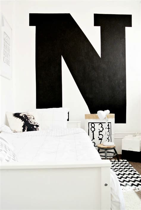 Black And by Monochrome Boy S Room Petit Small