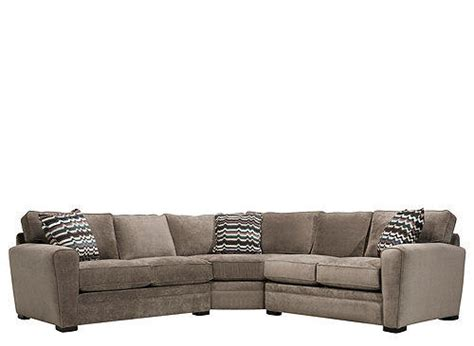 3 Pc Sectional Sofa Artemis Ii 3 Pc Microfiber Sectional From Raymour Flanigan