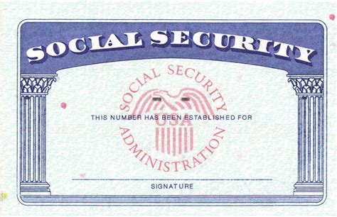 Social Security Card Template by Social Security Card Template Icebergcoworking