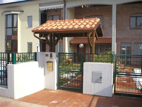 tettoie per cancelli esterni tettoie e pensiline