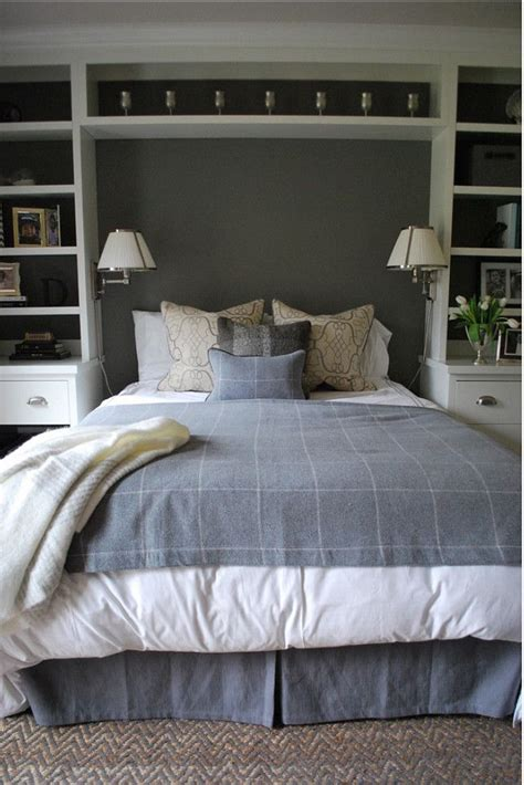 1000 ideas about bookcase headboard on