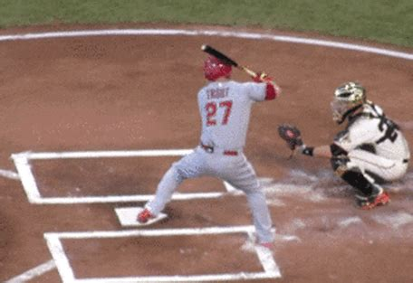 mike trout swing mechanics swing direction getting inside the ball tewksbary