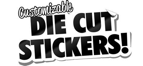 Custom Die Cut Stickers No Minimum