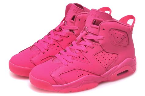 cheap air jordan retro 6 all pink online for sale