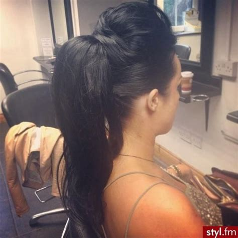 easy hairstyles glamrs 1000 ideas about poof ponytail on pinterest voluminous