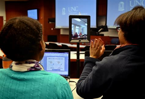 Unc System Professional Mba Programs by Robots To The Rescue The Of Carolina