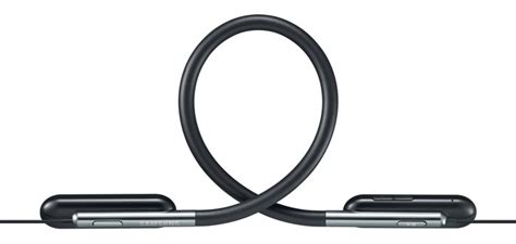 Samsung U Flex Black Samsung U Flex Bluetooth Sports Headphones Black