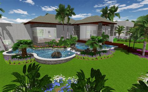 landscape design increasing use of 3d architecture in landscape designing