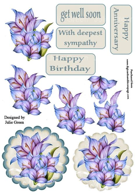 3d Decoupage Free Downloads - 1000 images about 3d get well on get well