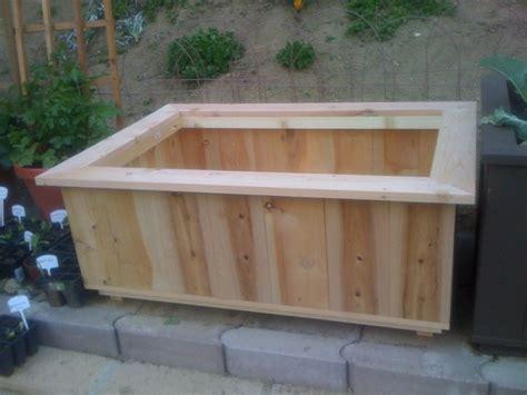 wood work wood planter box plans easy diy woodworking