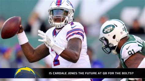 qb for the chargers is cardale jones the future qb for the chargers