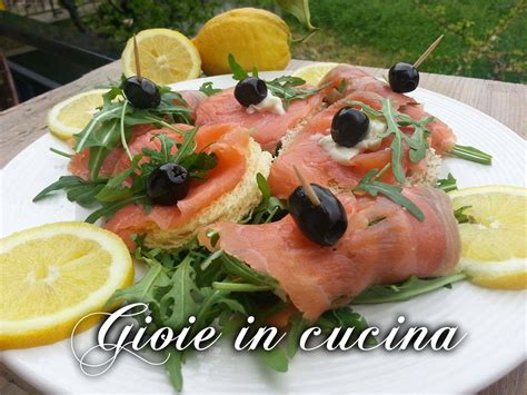 cucinare salmone affumicato ricerca ricette con antipasto con salmone affumicato