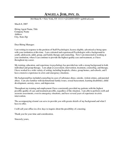 psychotherapist cover letter cover letter ideas on cover