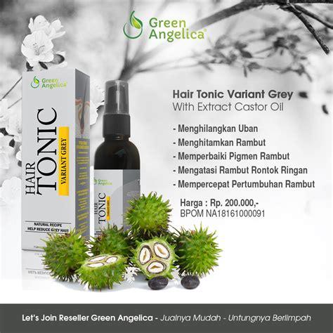 Obat Penghilang Uban Anti Uban Hair Tonic Anti Grey Green obat uban tradisional obat menghilangkan uban obat