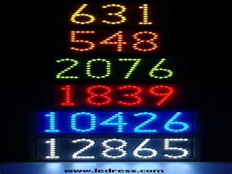 lighted address sign led lighted house number signs ways