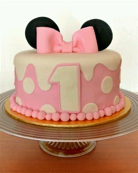 Baby Birthday Cake by My Baby Birthday Cake Minnie Mouse Cakes