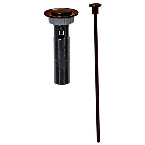 bronze bathtub drain ez connect mix match bathroom drain trim in oil rubbed bronze danco