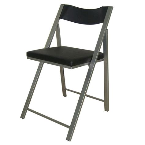 Padded Chair by Marvel Padded Folding Chair Black Staples 174