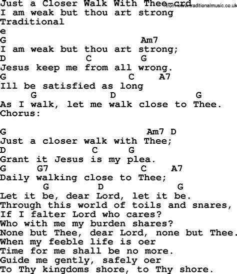printable lyrics to just a closer walk with thee top 500 hymn just a closer walk with thee lyrics