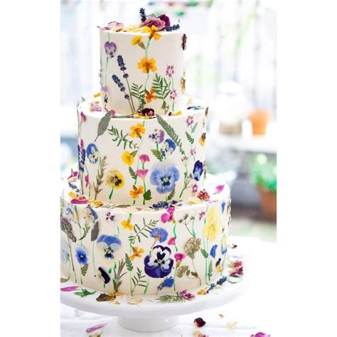 89 best edible flowers for wedding cakes images on
