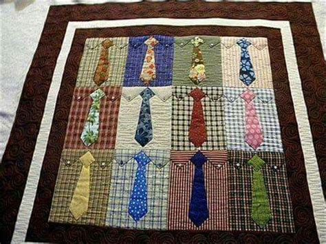 pattern for shirt and tie quilt quilts from men s shirts quilting digest