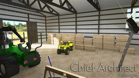 designing  traditional pole barn structure