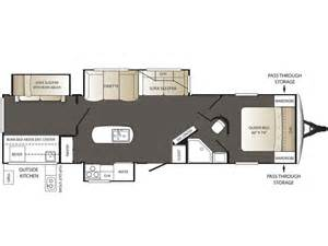 keystone rv floor plans 2016 keystone outback 325bh floor plan travel trailer rv