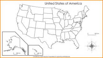 blank us map with states labeled 5 blank us map printable technician resume