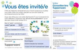 tupperware invitation