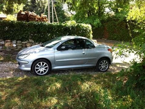 peugeot 109 for sale sold peugeot 206 cc 1 6 hdi 109 cv used cars for sale