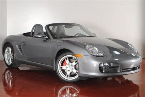 porsche boxster s for sale by owner find used 2006 porsche boxster s 295 hp one owner meteor