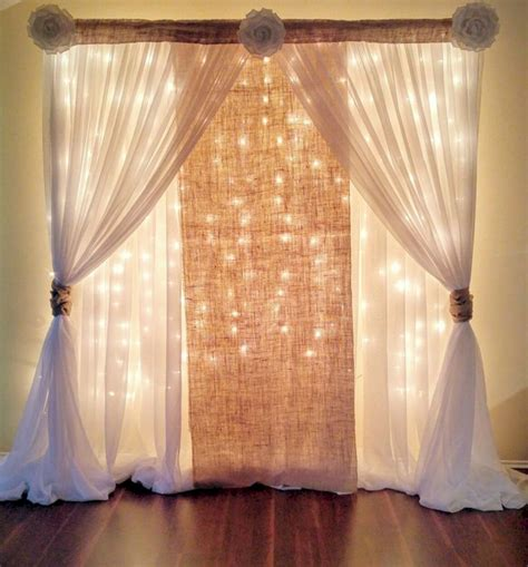 Wedding Backdrop Ideas Pictures by Curtain Wedding Backdrop Ideas Oosile