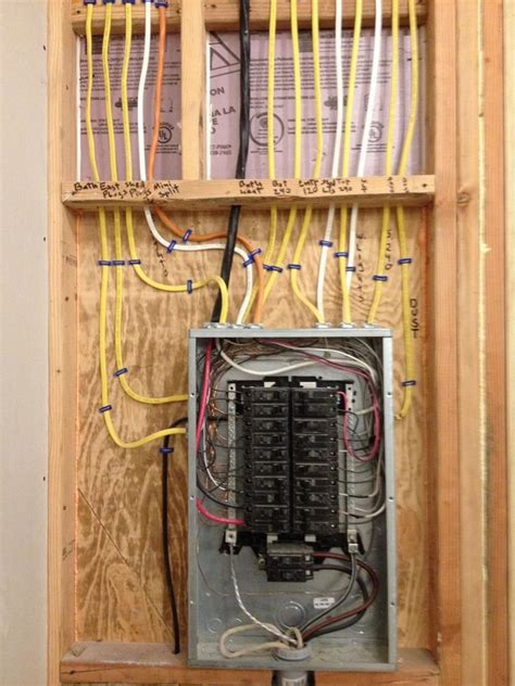 best 25 electrical panel wiring ideas on